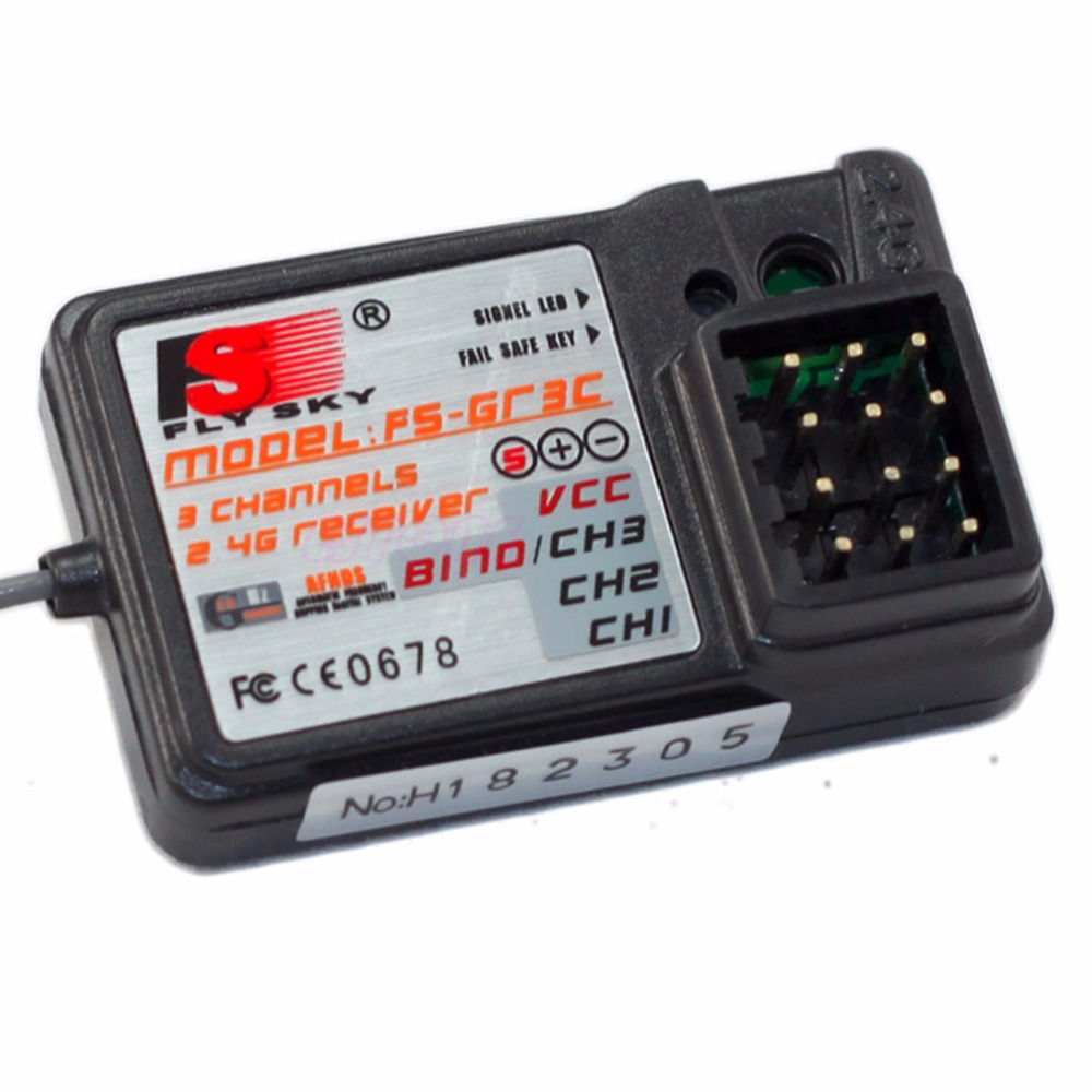 FlySky FS-GT3B GT2B GT3C Transmitter FOR RC Car Boat 3Channel 2.4Ghz Receiver %328/319