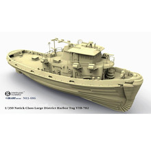 OHS Orange Hobby N03086 1/350 Natick Class Large District Harbor Tug YTB782 Assembly Scale Military Ship Model Building Kits oh(China)