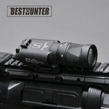 Tactical Weapon Light SUREFIRE X300V White-light And Strobe Output Hunting Riflescope For Handgun Rifle(China)
