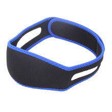 Snoring Solution Anti Snore Chin Strap Snore Belt Stop Snoring Sleep Apnea Chin Support Straps for Woman Man Sleeping Aid Tools