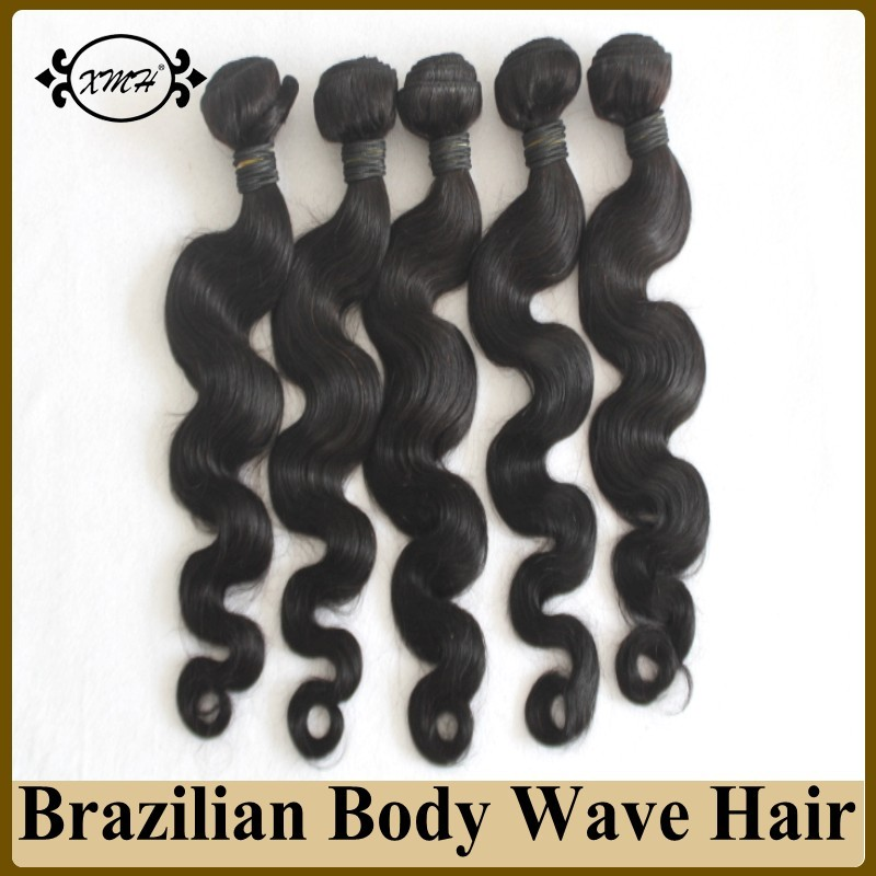 Wholesale Brazilian Human Hair Sew In Weave 7A Virgin Brazilian Hair Body Wave Cheap Human Hair 100g Bundles 14-26 In Stock<br><br>Aliexpress