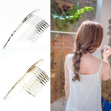 Fashion Unique Word Arc Curved Design Hairpin Headdress Hair Accessories Hair Clip Comb For Women Lady Girls D1(China)