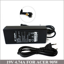 19V 4.74A 90W New Laptop Charger With  Power Supply Cord For Netbook Acer Aspire 5710 5720 5730 5551 5552 5551G 5552G 5935G