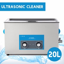 GT SONIC 20L Big Size Ultrasonic Cleaning Machine Cleaner Timer Heating Bath For Electronic Surgical Jewellery Parts VGT-2120QT