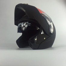 Newest helmets AKT168 filp up motorcycle motocrossAKT helmets double lens helmets racing helmet(China)