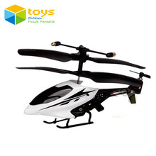 HX720 mini rc helicopter remote control electric drone aircraft plane Infrared radio control model Alloy 2.5 Channel gyroscope(China)