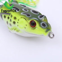 fishing lure Mixed 5 models fishing tackle 5 color 5.5cm/13g Minnow lure Crank Lures Mix fishing bait Frog Fishing lures(China)