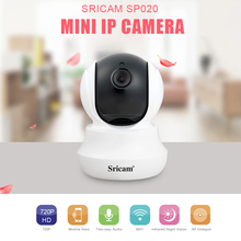 Buy Sricam SP020 Wireless IP Camera HD 720P H.264 Home Mini Camera ecurity Motion Detection Smart Security Camera Night vision for $25.99 in AliExpress store