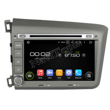 NAVITOPIA 8Inch Quad Core Android 5.1 Car Radio Stereo For Honda Civic 2012 Car DVD+GPS Navigation+Bluetooth+WiFi+Mirror Link(China)