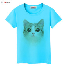 BGtomato Lovely design cute cartoon T-shirts Original brand 3D women clothes casual shirts wholesale tops tees cheap sale