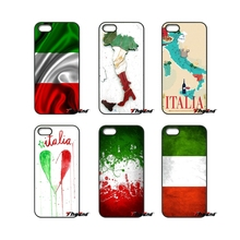 For Sony Xperia X XA XZ M2 M4 M5 C3 C4 C5 T3 E4 E5 Z Z1 Z2 Z3 Z5 Compact Italy Flag IT Eagle Map Plastic Phone Cover case(China)