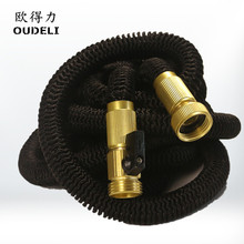 ALL NEW 2017 Garden Hose Expandable Hose with brass connectors High Pressure magic Expanding Garden hose(China)