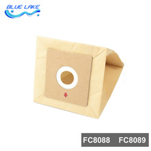 Vacuum cleaner Composite paper dust bags 10pcs,83*89mm,Vacuum cleaner accessories parts,for FC8088/FC8089