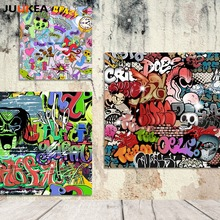 Modern Hipster Graffiti Poster Hippies Canvas Art Printing Painting Home Decoration Wall Picture For Living Room, Home Decor