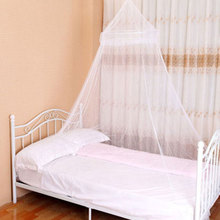 Round kid Bed Mosquito Net Dome Hanging Bedding Set Canopy Mosquito Net Curtain for Kids Reading Playing Room Decor