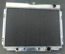 1967-1970 ALLOY aluminum RADIATOR FOR FORD MUSTANG/Fairlane/Ranchero/Mercury Cougar/XR7 67 68 69 70(China)