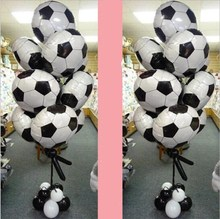 New 18inch Balloons Sports Basketball Volleyball school Football the sports meeting Decoration Balloon Golden Globes