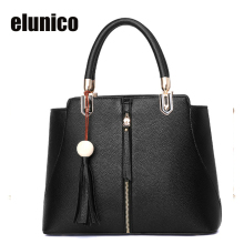 Elunico 2017 New Women Leather Handbags Fashion Casual Tote Shoulder Bag Ladies Work Shopping Messenger Bags Bolsa Feminina Bag