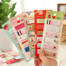 1pcs Kawaii Animal Romantic Memo Pad Paper Sticker Notes Post It Notepad Bookmark Scrapbooking Memo Pads Creative Stationery