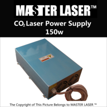 150W CO2 Laser Tube Power Supply for 150 watts Laser Cutting Machine