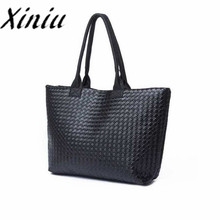 Fashion Simple new design Women Black Bags Shoulder bag for Women PU Leather Handbags Lady Hand Bag Promotion #Y5(China)