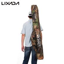 Lixada Fishing Bags 130/150cm Fishing Rod Pouch Reel Oxford Fishing Pole Gear Lures Camouflage Storage Bag Case Fish Gear Pesca(China)