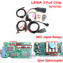 A+++ Quality Full Chip Lexia3 V48/V25 Diagbox V7.83 PP2000 Lexia-3 Firmware 921815C for Peugeot For Citroen Lexia-3 DHL Free(China)