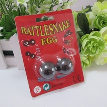4packs/lot 25mm Ball shape Magnetic Buzz Magnets Singing Magnets Rattle Snake Eggs Relaxation Toys