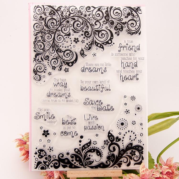Scrapbook stamps wedding