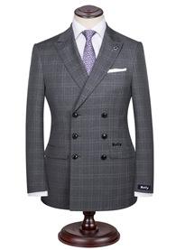 HTB1CpwDRFXXXXXRXVXXq6xXFXXXE - Custom Made Men's Wedding Suits Groom Tuxedos Jacket+Pant+Tie Formal Suits Business Causal Slim Navy Plaid Custom Suit Plus Size