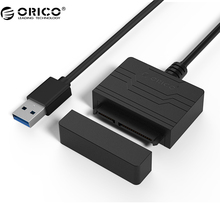 ORICO 27UTS SATA Adapter USB3.0 to SATA Hard Drive Adapter  SSD Adapter Cable Converter Super Speed USB 3.0 To SATA 22 Pin