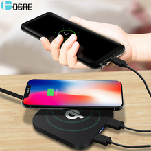 Buy DCAE Qi Wireless Charger Samsung Galaxy S8 S9 Dual USB Ultra Thin Fashion Charging Dock Cradle Charger iphone 8 8 Plus X for $3.22 in AliExpress store