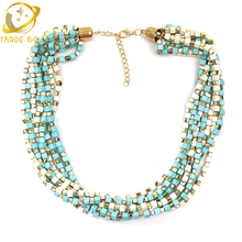 Buy 2016 Jewelry Women Luxury Statement Necklace Chunky Bib Star Multi Layer Necklaces & Pendants Chain Big Fashion Vintage Necklace for $6.65 in AliExpress store