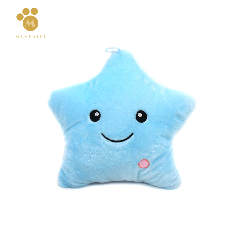 Kawaii Cute Flashing Star Peluches Plush Toys New 1pcs High Quality Soft Mini Stuffed Doll For Children Gifts Speelgoed(China (Mainland))