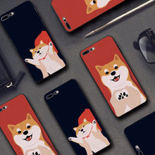 Buy Latest Cute Pet Shiba Dog Phone Cases iphone 6 6s 7 8 Case iphone 6plus 6Splus 7plus 8Plus Embossed Soft Back Cover for $3.54 in AliExpress store