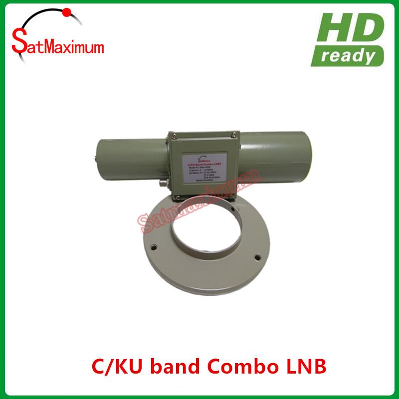 Universal C Ku Band CKU LNB LNBF Linear Polarization FTA Prime Focus
