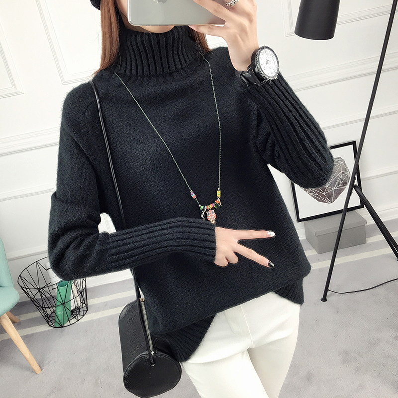 Winter Turtleneck Sweater, Women's 2017 New Design Thick Pullover 39