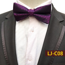 Purple Black Navy Fashion Mix Bow Tie for Men Men's Unisex Tuxedo Dress Party Tie / Butterfly Tie Free Shipping Wholesale&Retail(China)