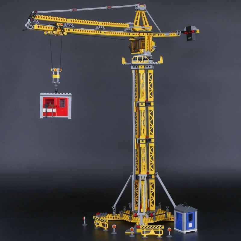 Genuine Lepin 02069 778Pcs City Series The Building Crane Set 7905 Educational Building Blocks Bricks As Boy`s Plaything Toys<br>