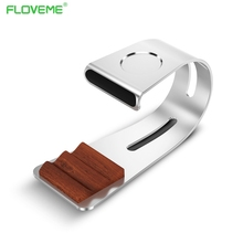 FLOVEME Charging Dock Station Bracket Cradle Stand Phone Holder For Apple iPhone 7 6S PLUS 6 5S 5C 5 4S 4 For iwatch Smart Watch