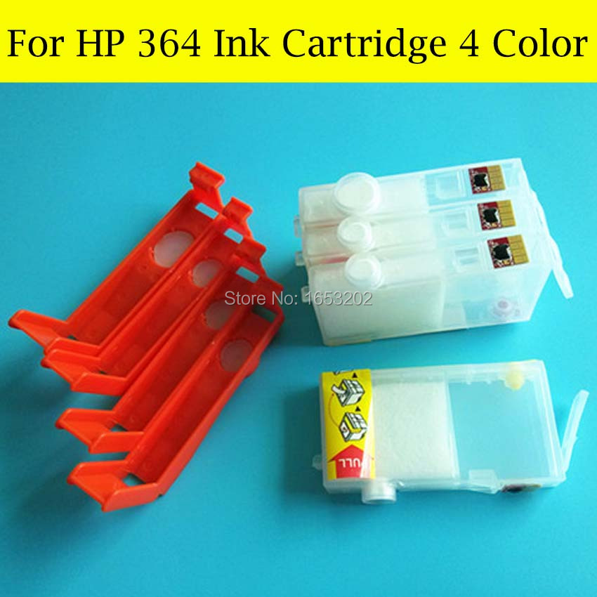 364 XL Ink Cartridges With Permanent Chip For HP Photosmart CQ877B CQ761B CQ183B CQ177B CQ176B Q8291B Printer Plotter<br><br>Aliexpress