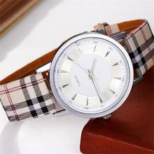New Fashion Unisex Women Men Wrist watch PU Leather Watchband Gift Jewelry & Watches Fashion Accessories