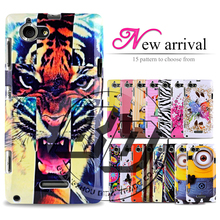 Buy New 2015 Arrival Brand Tiger Minions Printing Soft Tpu Gel Cover Case Sony Xperia L S36h C2104 C2105 for $1.39 in AliExpress store