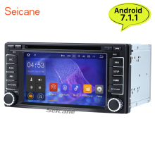 Seicane 6.2 inch Android 7.1 Car radio DVD Player GPS Navigation for 2010-2012 Subaru Forester Impreza WIFI USB Support OBD2 DVR(China)
