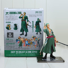 15cm One Piece Sauron Zoro Two Years Later PVC Figure Toy Doll Model for Collection