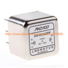 D3A2PP DC PCB Socket Pin Type Power Filter 3A 24VDC 110VDC EMI Power Filter,Inductor Connector