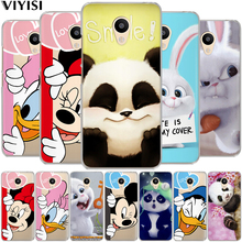 Cute Mickey Minnie Mouse Phone Case Cover Meizu U10 U20 M3 M3s M5 M5s M5c Note Pro 6 cartoon Phone case cover Etui coque