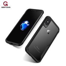 Buy Case iPhone 8 7 Plus Protective Phone Cases Silicone Frame Back Cover iPhone 8 7 7Plus Luxury Anti-knock Shell Coque for $4.66 in AliExpress store