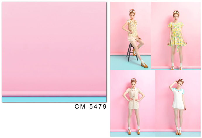 Vinyl Backdrops Magic-Box Pink LIFE 150x200cm for Photography Blue Merge Cm-5479 title=