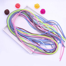 Data Line Protection rope coil protective cover for usb charging Line cable/Headphone winder,cell phone Flex Spring coil wire